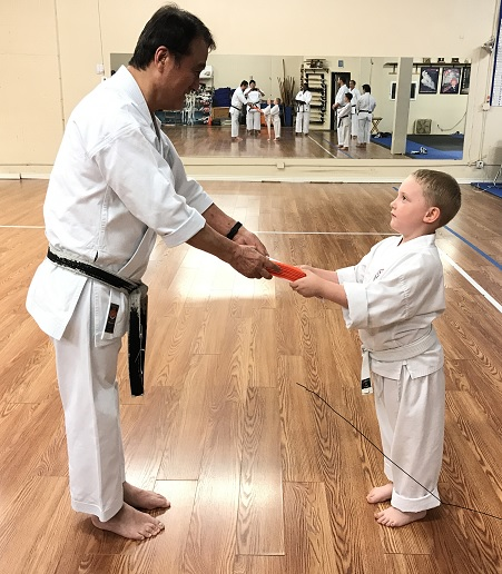 James receives 8 kyu